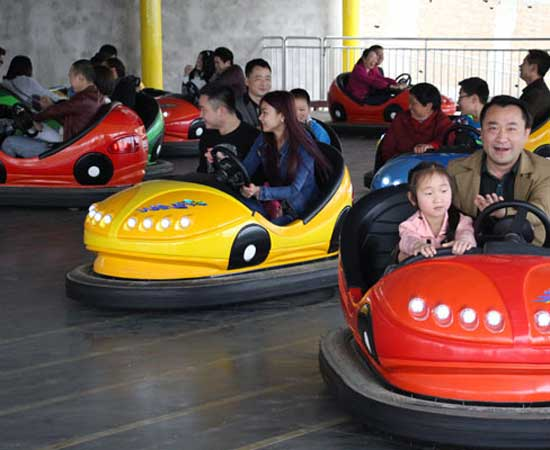 Driving Methods of Funfair Bumper Car Rides